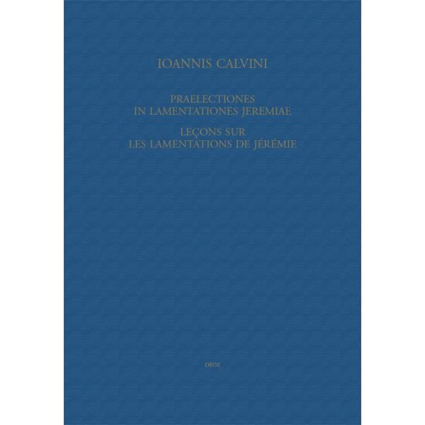 John Calvin's Writings on the Prophet Jeremiah