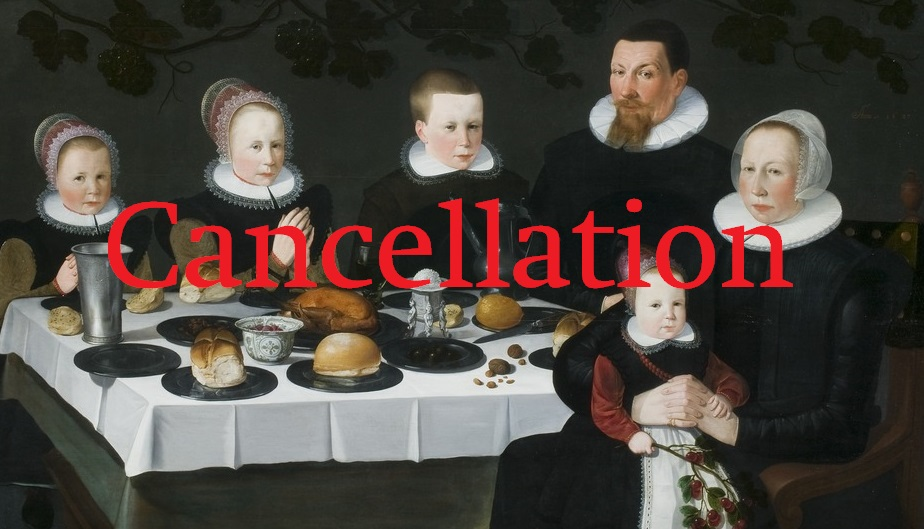 Cancellation Tenth Annual RefoRC Conference on Early Modern Christianity