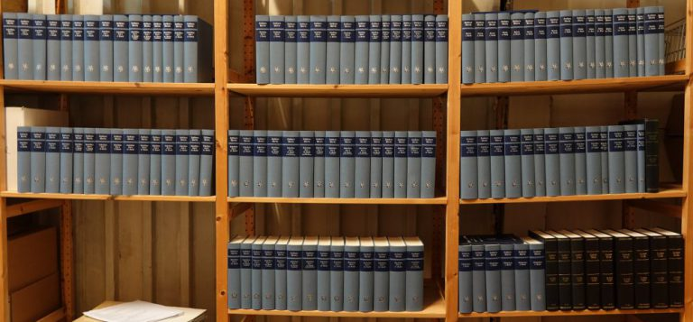 Complete Set of the Weimar Edition of Martin Luther's Works