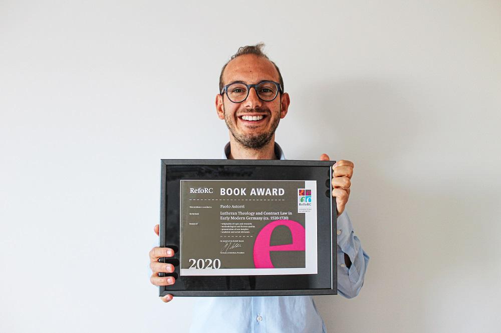 Paolo Astorri Wins RefoRC Book Award 2020