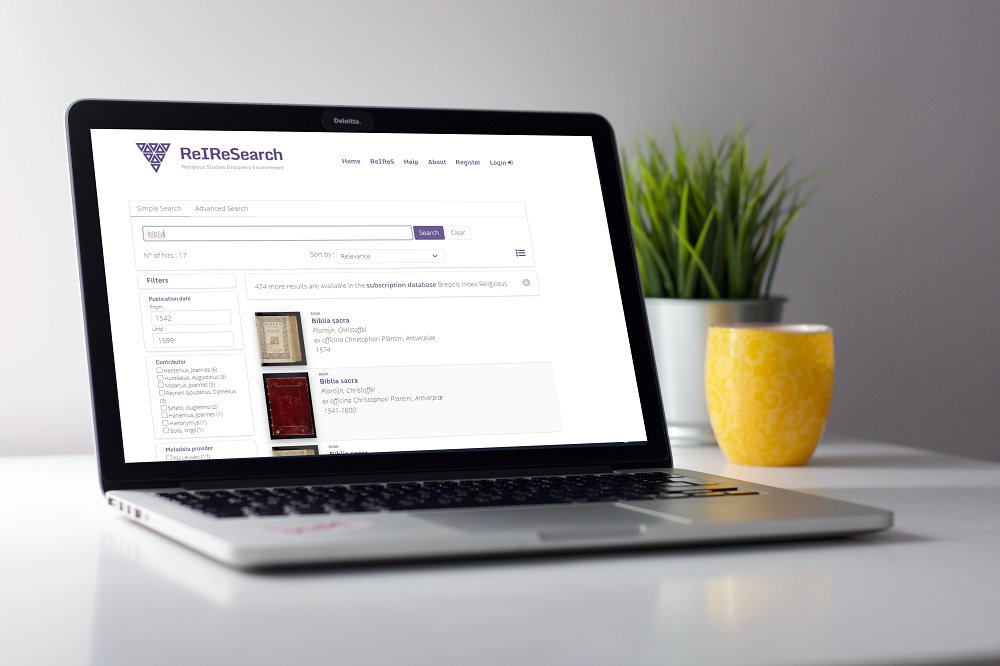 ReIReSearch, a New Search Tool for Researchers in Religious Studies