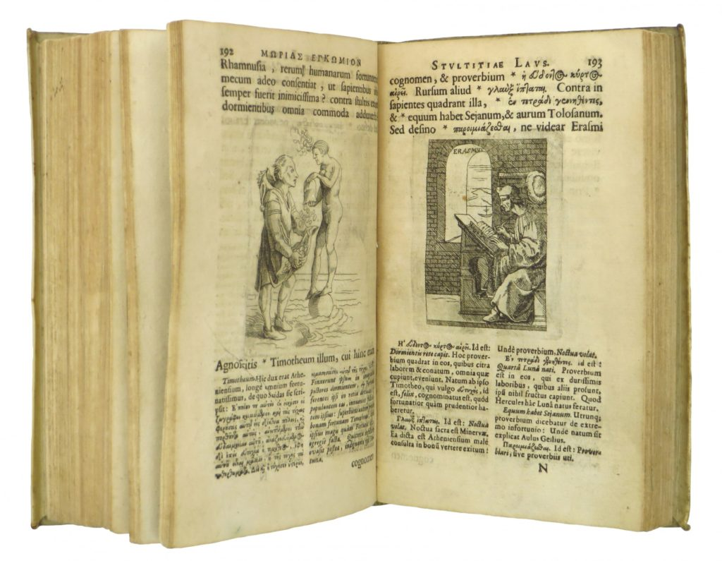 First Illustrated Edition of Erasmus' Praise of Folly