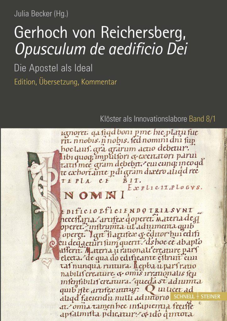 Gerhoch von Reichersberg, Opusculum de aedificio Dei. Die Apostel als Ideal