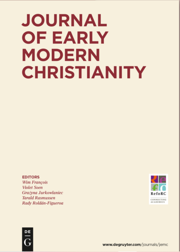 Special Issue JEMC on The Making of the European Reformation
