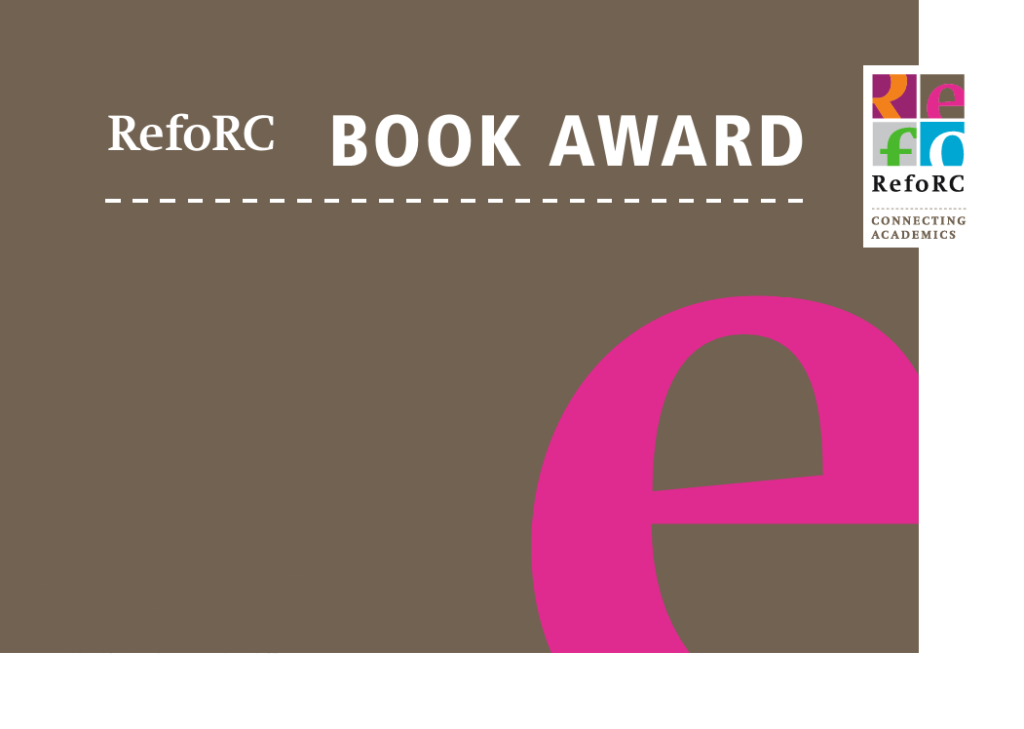 RefoRC Book Award 2021, Call for Submissions
