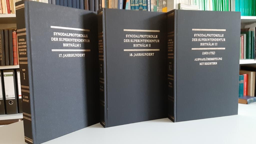 Synodalverhandlungen der Evangelischen Superintendentur Birthälm/Siebenbürgen (1601-1752)