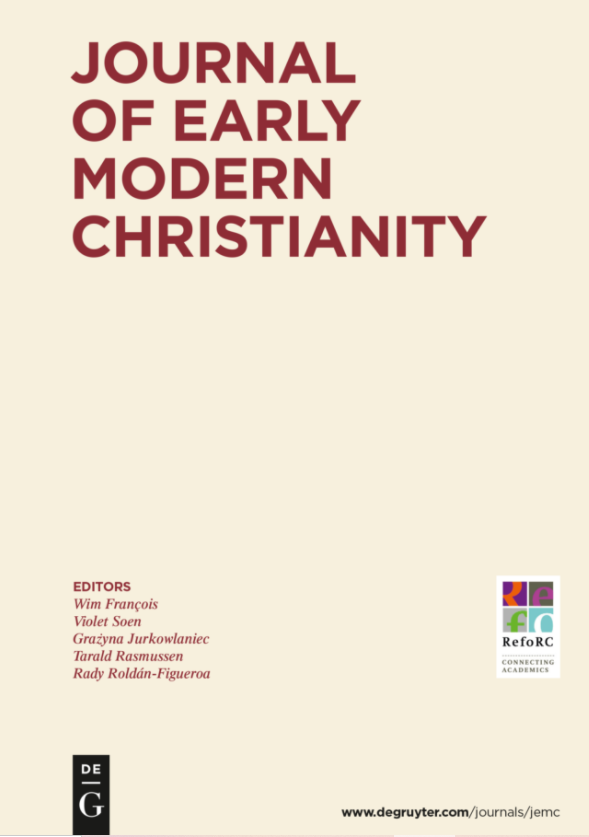 New Issue JEMC on the Reception of the Reformation in Transylvania